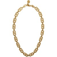 Versace Gold Empire Chain Necklace