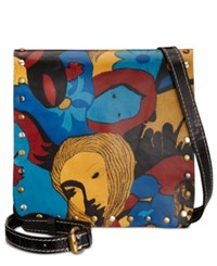 Patricia Nash Granada Crossbody Mod World Girl Power