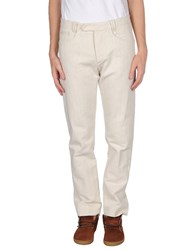 Italia Independent Trousers Casual Trousers Men Ivory