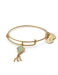 Alex And Ani Green Inspiration In Flight Flying Kites Charm Bangle Gold