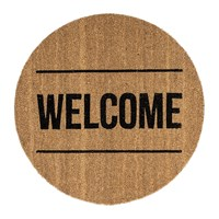 Bloomingville Door Mat Welcome