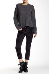Zadig And Voltaire Eva Skinny Overdyed Denim Gray