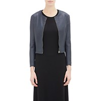 The Row Women's Collarless Stanta Jacket Silver