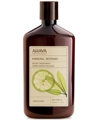 Ahava Mineral Botanic Velvet Cream Wash Lemon And Sage No Color