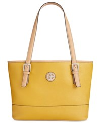 Giani Bernini Saffiano Tote Honey Mustard