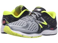 New Balance M1260v6 Grey Yellow Men's Running Shoes Gray