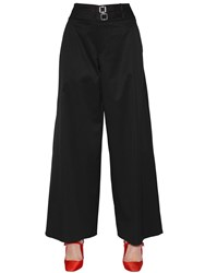 Alyx Cropped And Wide Cotton Stretch Pants
