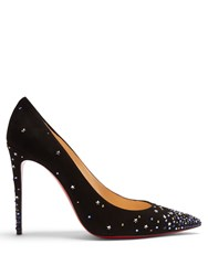 Christian Louboutin Gravitanita Suede Pumps Black Multi