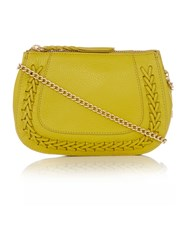 Dickins And Jones Harrison Crossbody Bag Yellow