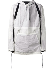 Y Project Multi Strap Sports Jacket White