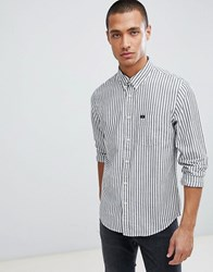 Lee Jeans Striped Shirt White