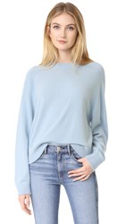 Vince Raglan Sleeve Cashmere Sweater Pale Blue