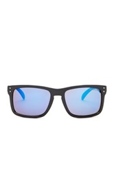 English Laundry Men's Square Wayfarer Sunglasses Black