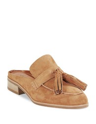 Aquatalia By Marvin K Stella Suede Loafer Slides Sand