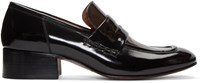 Marc Jacobs Black Two Tone Loafers