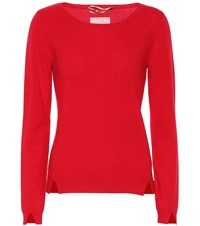 81 Hours Ciel Cashmere Sweater Red