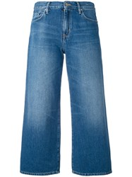 Carhartt Cropped Jeans Women Cotton Polyester 29 Blue