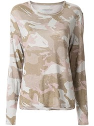 Zadig And Voltaire Willy Camouflage Print Top 60