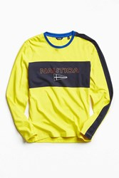 Nautica Uo Long Sleeve Tee Yellow