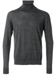 Prada Roll Neck Sweater Grey