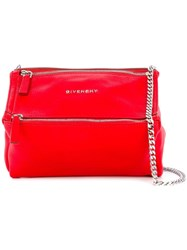 Givenchy Mini Pandora Crossbody Bag Red
