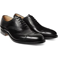 Church's Toronto Cap Toe Leather Oxford Brogues Black