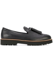 Hogan Tassel Detail Loafers Black