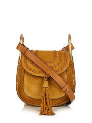 Chloe Hudson Mini Suede Cross Body Bag Dark Yellow