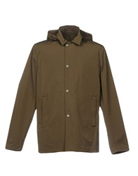 Aspesi Overcoats Military Green