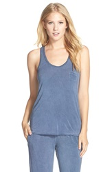 Daniel Buchler Washed Out Racerback Tank Midnight