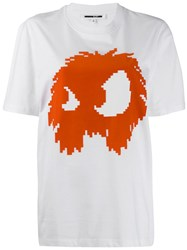 Mcq By Alexander Mcqueen Monster T Shirt White