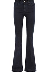 Stella Mccartney The '70S High Rise Flared Jeans Dark Denim