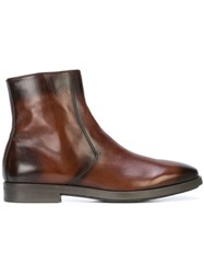 To Boot New York Diver Ankle Boots Brown