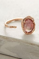 Anthropologie One Of A Kind Sepharine Ring Pink