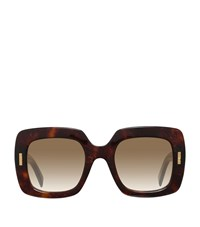 Boucheron Geometric Sunglasses Female Brown