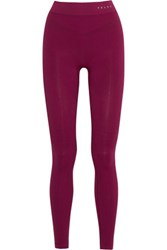 Falke Ergonomic Sport System Stretch Jersey Leggings Plum