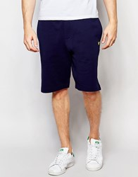 Lyle And Scott Sweat Shorts In Navy Navy