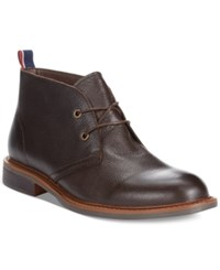 Tommy Hilfiger Stoneham2 Chukka Boots Men's Shoes Brown