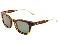 Oliver Peoples West Cabrillo Dark Tortoise Sage Polarized Fashion Sunglasses Animal Print