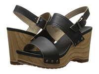 Timberland Earthkeepers Tilden Double Strap Black Dry Gulch Women's Wedge Shoes