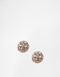 Ted Baker Pave Ball Stud Earrings