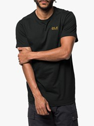 Jack Wolfskin Essential T Shirt Black