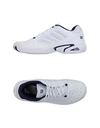 Wilson Footwear Low Tops And Trainers Men White