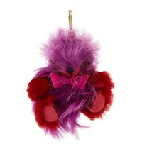 Burberry Shoes And Accessories Thomas Pom Pom Charm Female Red