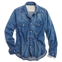 Chimala Denim Vintage Officer Shirt Shirts And Tops Women's New Arrivals Madewell