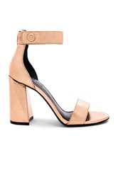 Kendall Kylie Jewel Sandal Metallic Copper