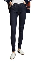 Hudson Barbara High Waist Skinny Jeans Sunset Blvd