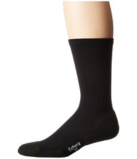 Thorlos Experia Dress Crew Single Pair Black Men's Crew Cut Socks Shoes