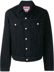 Acne Studios Boxy Denim Jacket Black