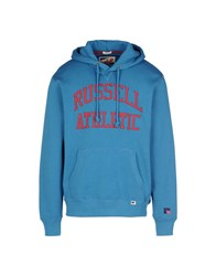 Russell Athletic Topwear Sweatshirts Men Turquoise